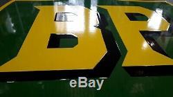 Grande plaque émaillée BP 50cm 47 cm