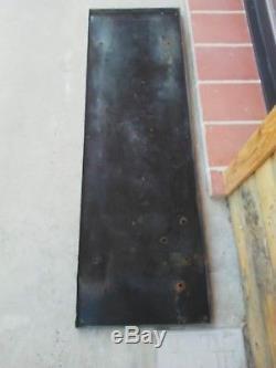 Grande plaque émaillée Dunlop, illustrée par Raymond Savignac