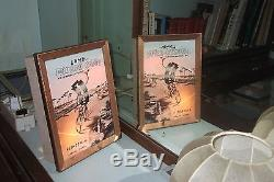 Insegna Luminosa Pubblicitaria Lama Fausto Coppi Anni 60