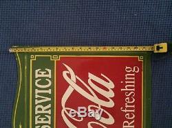 Insegna Smaltata Porcelain Sign Enamel Antique Original Coca Cola Rare