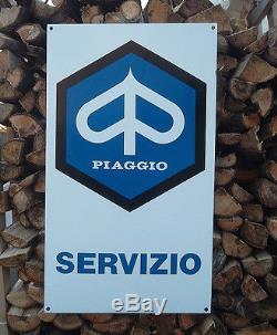 Insegna vintage originale piaggio (old sign piaggio)