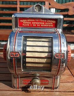 Juke box de table americain année 50/60/70
