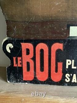 Le Bog Publicité Automate 1900 Rare