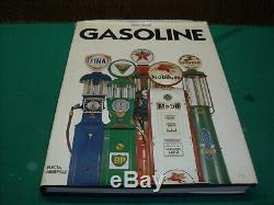 Livre Gasoline Pompe A Essence Bidon Huile Plaque Emaillee Tole Litho Objets