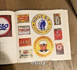 Livre sur les plaques émaillées publicitaires, WLASSIKOFF, Ed. Alternative