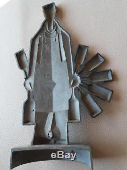 NECTAR (1930) Figurine publicitaire d'époque pour les vins Nicolas par LOUPOT