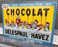 /! \ NOUVEAU PRIX /! \ DELESPAUL-HAVEZ bleue vers 1950 plus rare que la blanche