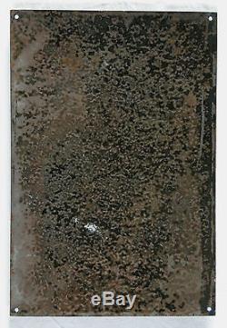 OHARA SHOSON/KOSON, superbe plaque émaillée ancienne, VITRACIER JAPY, N° 2