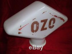 OPALINE OZO POMPE A ESSENCE D ORIGINE bidon huile bp shell caltex texaco satam