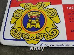 Old Plaques émaillée KRONENBOURG beer publicité bière pud bar caveau bistrot