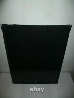 PEU COURANTE plaque émaillée BAROCLEM 48cm x 38cm EAS GARAGE AUTO BATTERIE