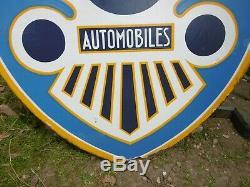 PLAQUE EMAILLEE BERLIET automobiles 1931 EAS