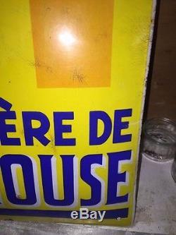 PLAQUE EMAILLEE BIERE DE MULHOUSE