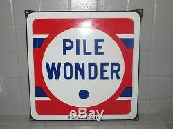 PLAQUE EMAILLEE PILE WONDER Email GIROD & FILS S. A
