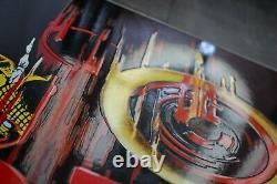 PLAQUE EMAILLEE PIRELLI PNEU 1 mètre enamel sign emailschild