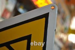 PLAQUE EMAILLEE RENAULT TRACTEURS AGRICOLES enamel sign emailschild