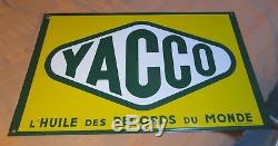 PLAQUE EMAILLEE double faces YACCO