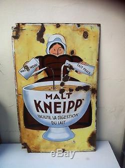 Plaque Emaillée Malt Kneipp
