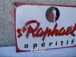 Plaque Emaille Ancienne Saint Raphael