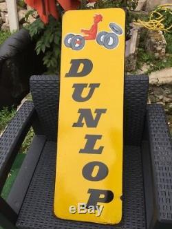 Plaque Émaillé DUNLOP