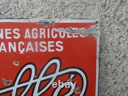 Plaque Emaillee Ancienne Dolle