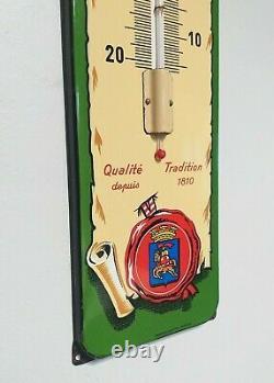 Plaque Emaillee Ancienne Mutzig Biere D'alsace 71