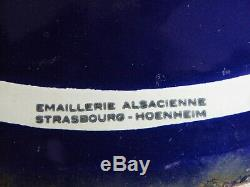 Plaque Emaillee Ancienne Potasse