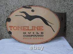 Plaque Emaillee Ancienne Toneline