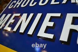 Plaque Emaillee Chocolat Menier
