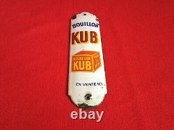 Plaque Émaillée De Propreté Kub, plaque Émaillée, Kub, plaque Émaillée Kub