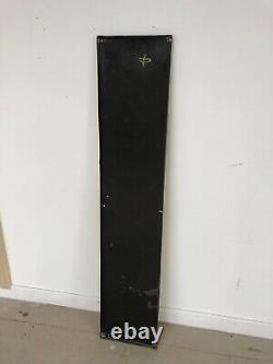 Plaque Emaillee Dunlop Ancienne Enamel Sign Emailschild