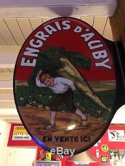 Plaque Émaillée Engrais Dauby EAS 1925 Nord
