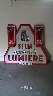 Plaque Emaillee Film Lumiere