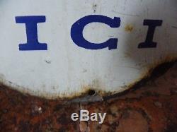 Plaque Emaillee Kub Chapeau De Gendarme
