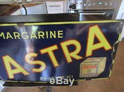 Plaque Emaillee Margarine Astra