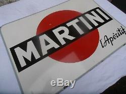 Plaque Emaillee Martini