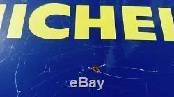 Plaque Emaillee Michelin Petit Format A Oreilles