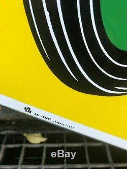 Plaque Emaillee Michelin Tarcteur Tres Bel Etat