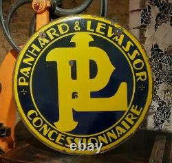 Plaque Emaillee PANHARD-LEVASSOR