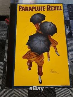 Plaque Émaillée Parapluie Revel en Potence