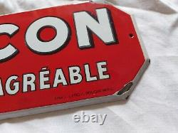 Plaque Emaillee Picon