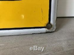 Plaque Emaillee Pile Mazda Ancienne Enamel Sign Emailschild