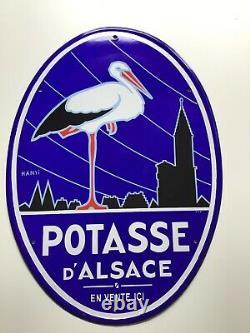 Plaque Emaillee Potasse D Alsace