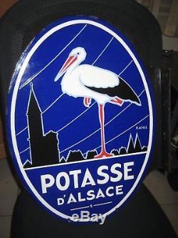 Plaque Emaillee Potasse Hansi