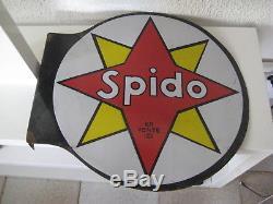 Plaque Émaillée SPIDO Originale