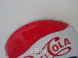 Plaque Emaillee Soda Pepsi Cola (email Neuhaus)
