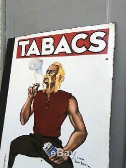 Plaque Emaillee Tabacs Balto / Celtiques