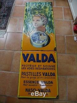 Plaque Emaillee Valda