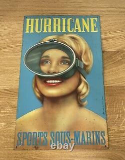 Plaque Hurricane Dubout