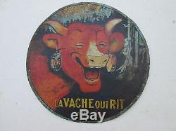 Plaque La vache qui rit années 1930